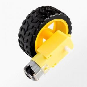 motor-dc-caja-reductora-rueda-robot