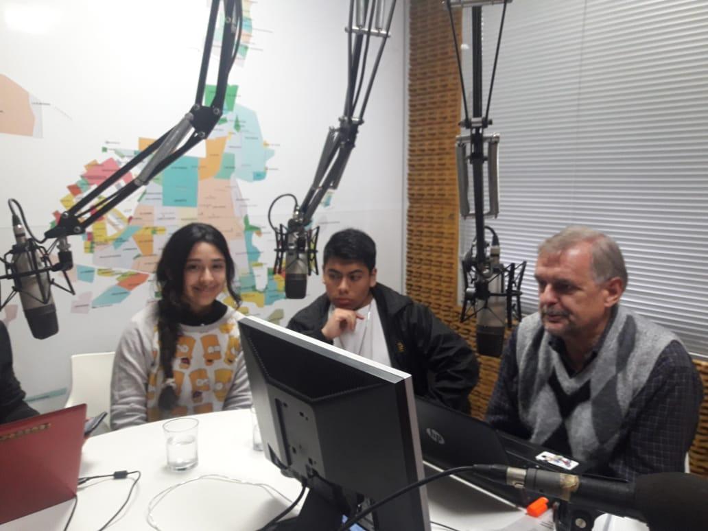 Entrevista radial por el protocolo Antibullying